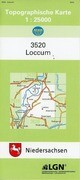 Loccum 1 : 25 000. (TK 3520/N)