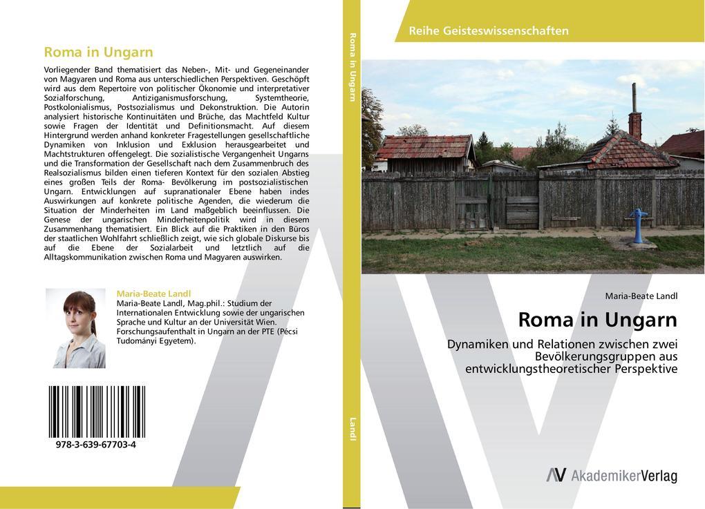 Roma in Ungarn als Buch (kartoniert)