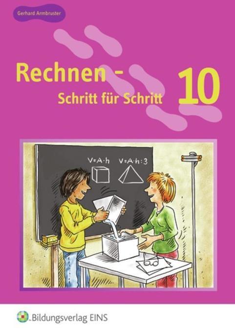 Rechnen - Schritt für Schritt 10 als Buch