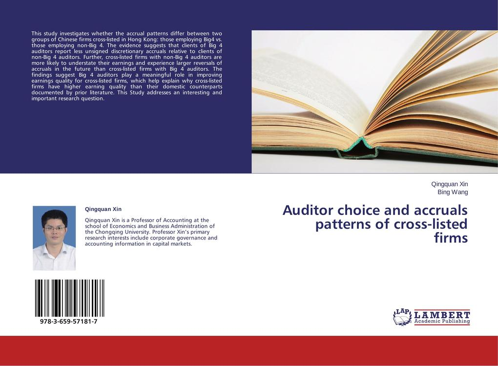 Auditor choice and accruals patterns of cross-l...