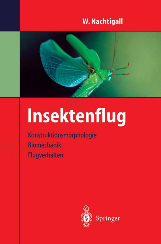Insektenflug als Buch