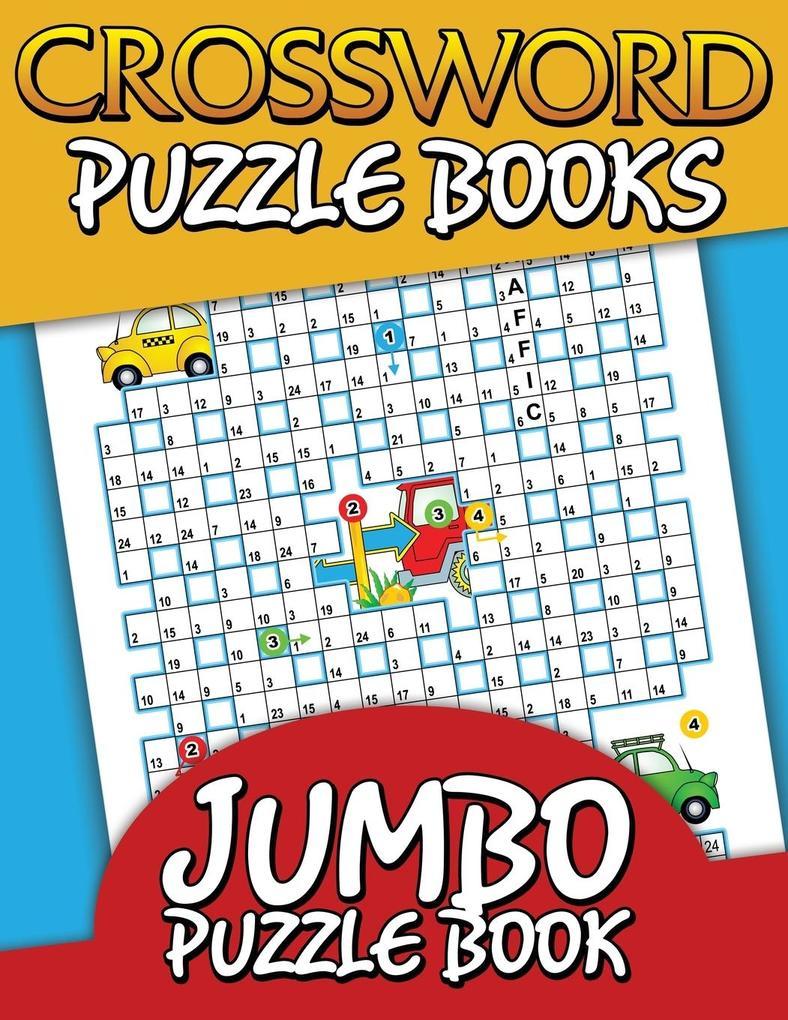 Crossword Puzzle Books (Jumbo Puzzle Book) als ...
