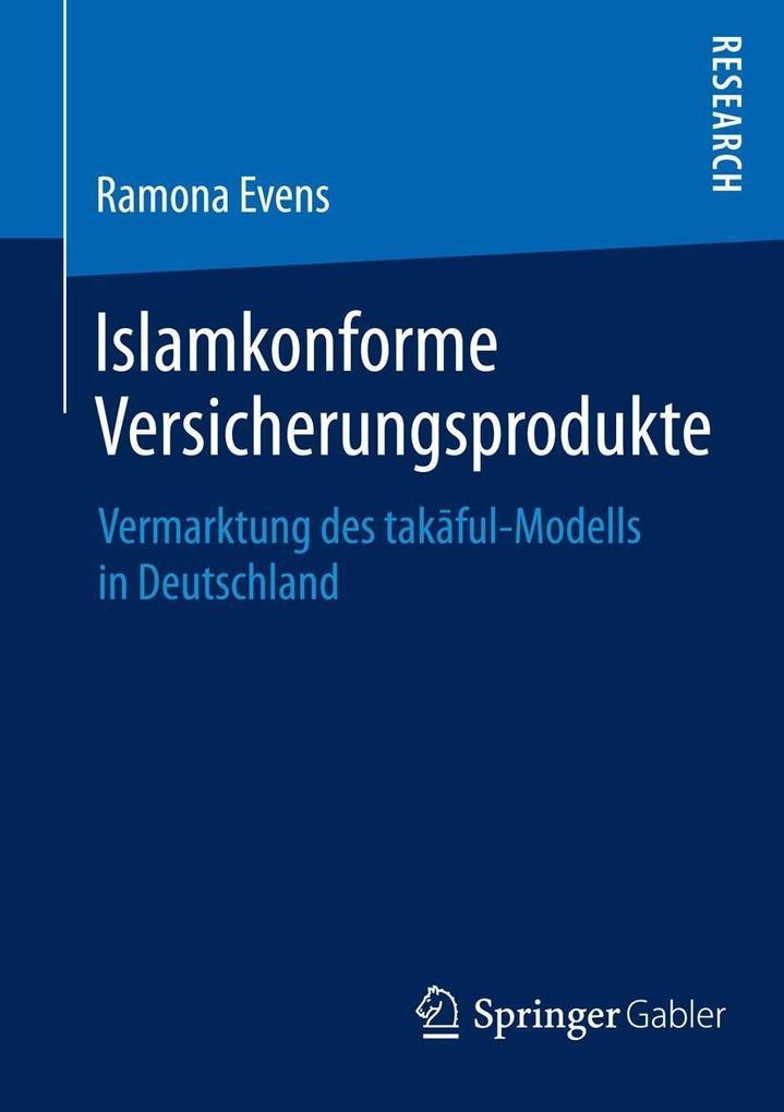 Islamkonforme Versicherungsprodukte als eBook D...