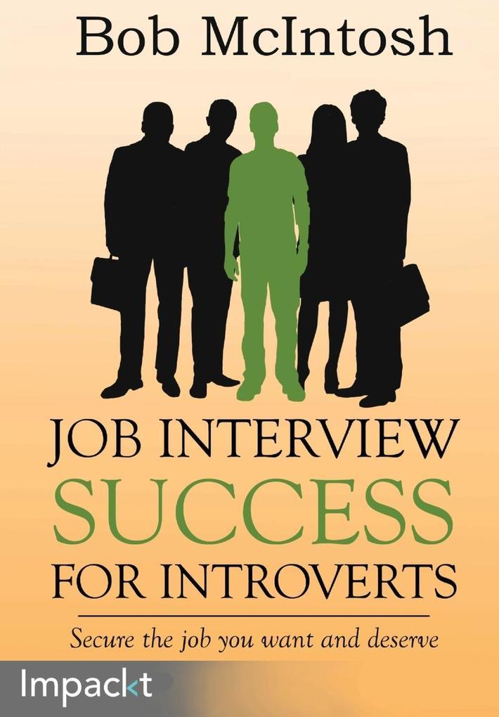Job Interview Success for Introverts als Tasche...