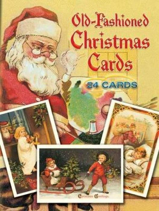 Old-Fashioned Christmas Cards: 24 Cards als Taschenbuch