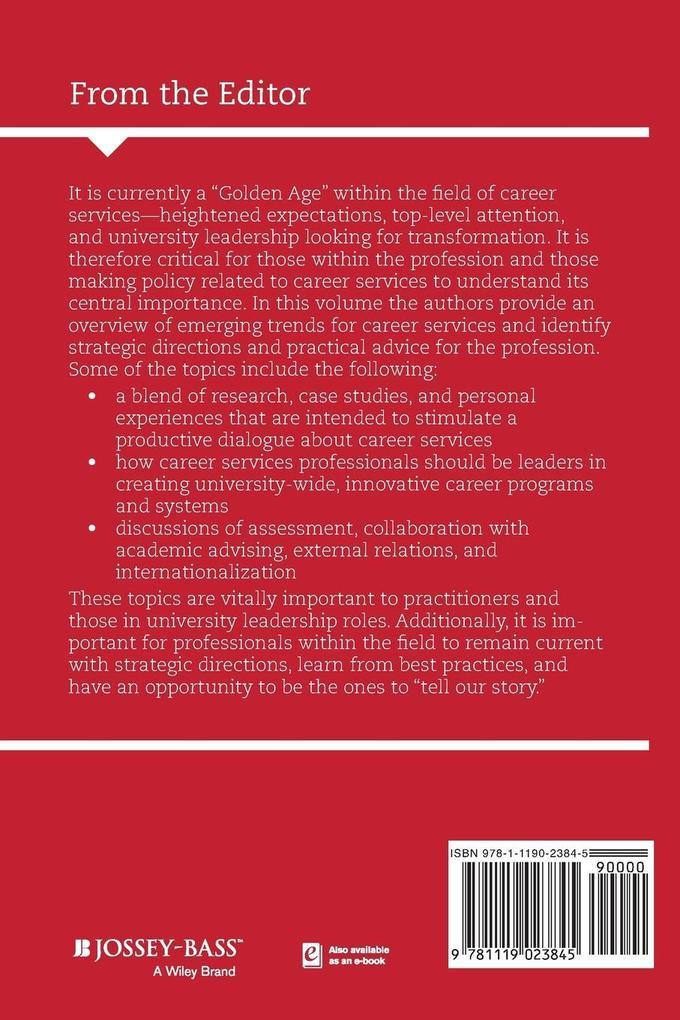 SS148 Career Services Universi als Taschenbuch ...
