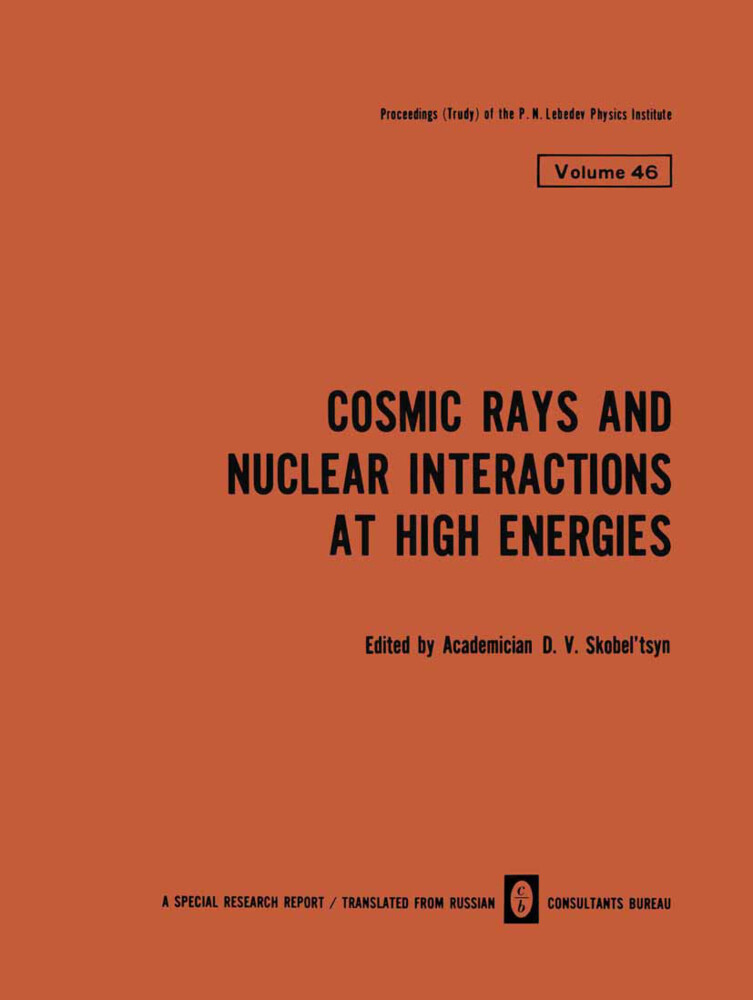 Cosmic Rays and Nuclear Interactions at High En...