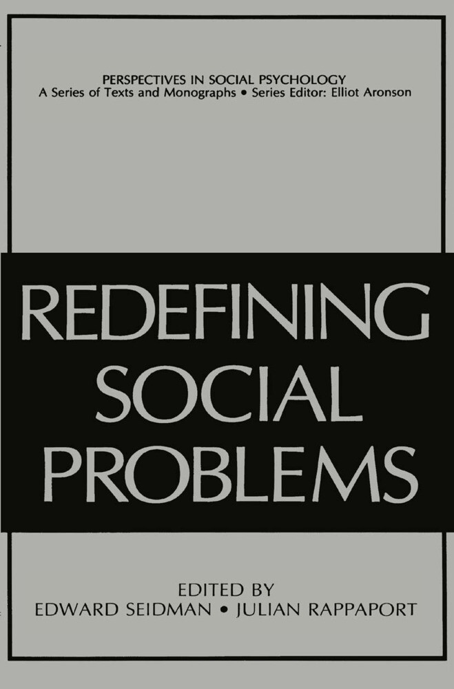 Redefining Social Problems als Buch von