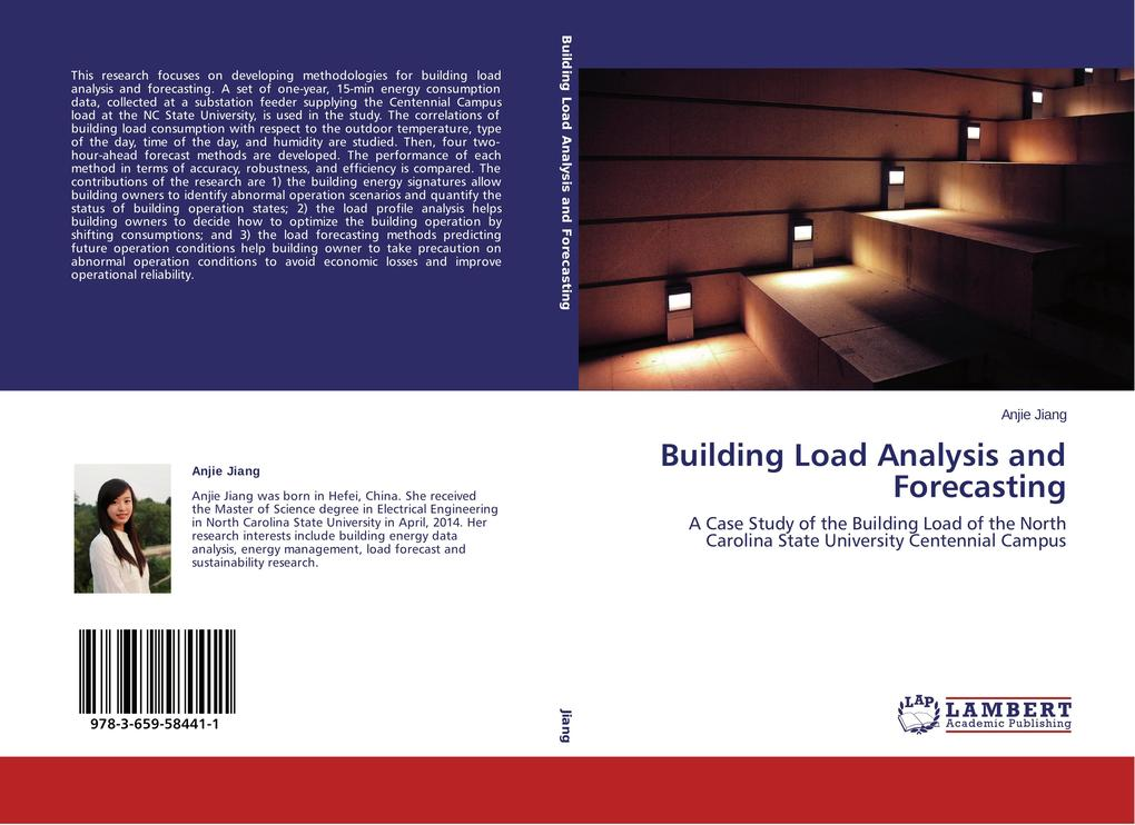 Building Load Analysis and Forecasting als Buch...