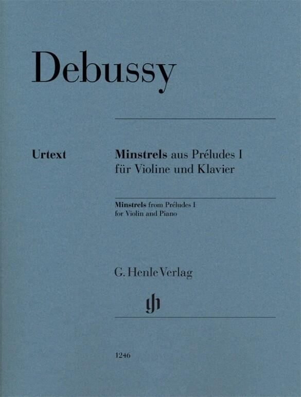 Minstrels aus Préludes I für Violine und Klavie...