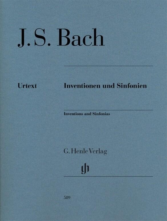 Inventionen und Sinfonien als Buch