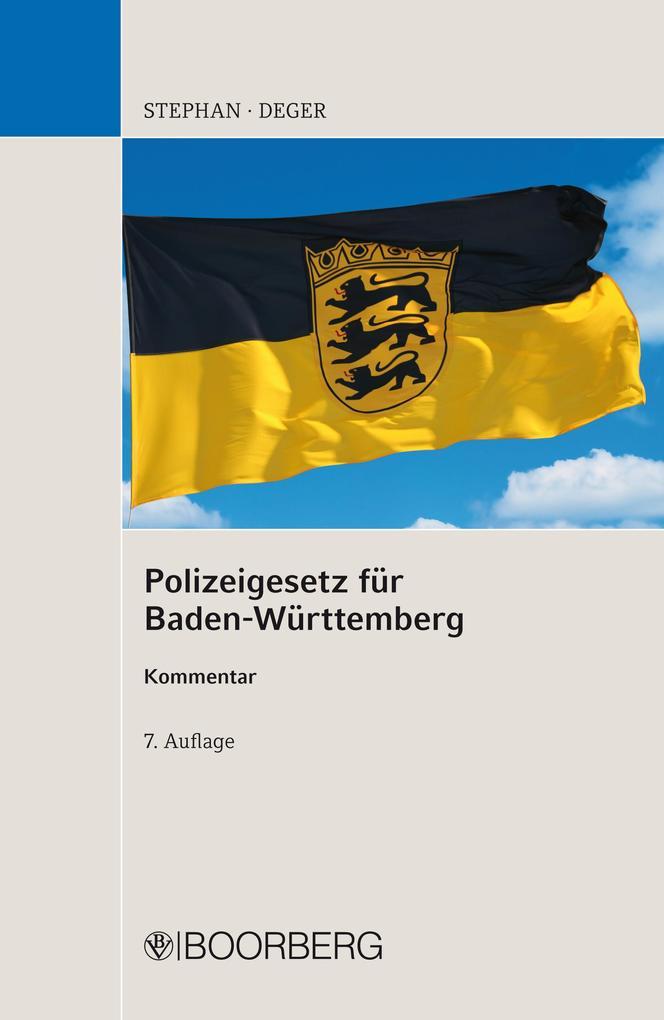 Polizeigesetz für Baden-Württemberg als eBook D...