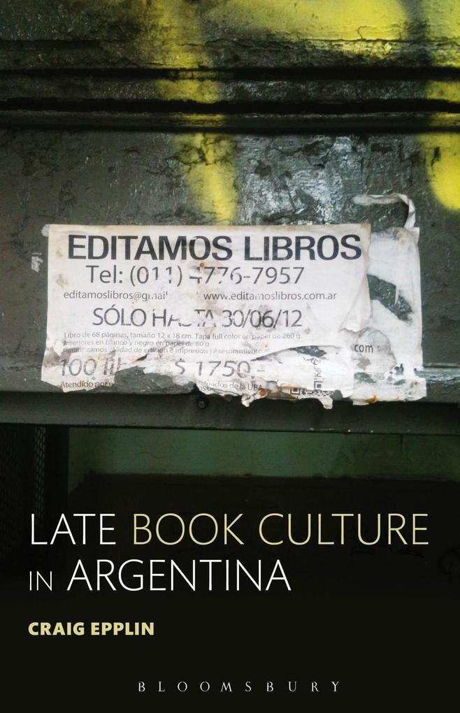 Late Book Culture in Argentina als eBook Downlo...