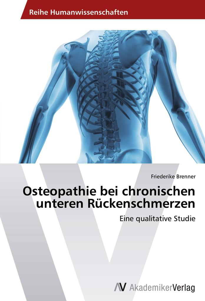 Osteopathie bei chronischen unteren Rückenschme...