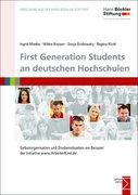 First Generation Students an deutschen Hochschulen