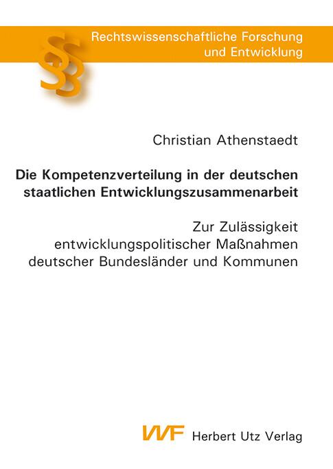 Die Kompetenzverteilung in der deutschen staatl...