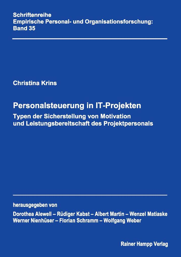 Personalsteuerung in IT-Projekten als eBook Dow...