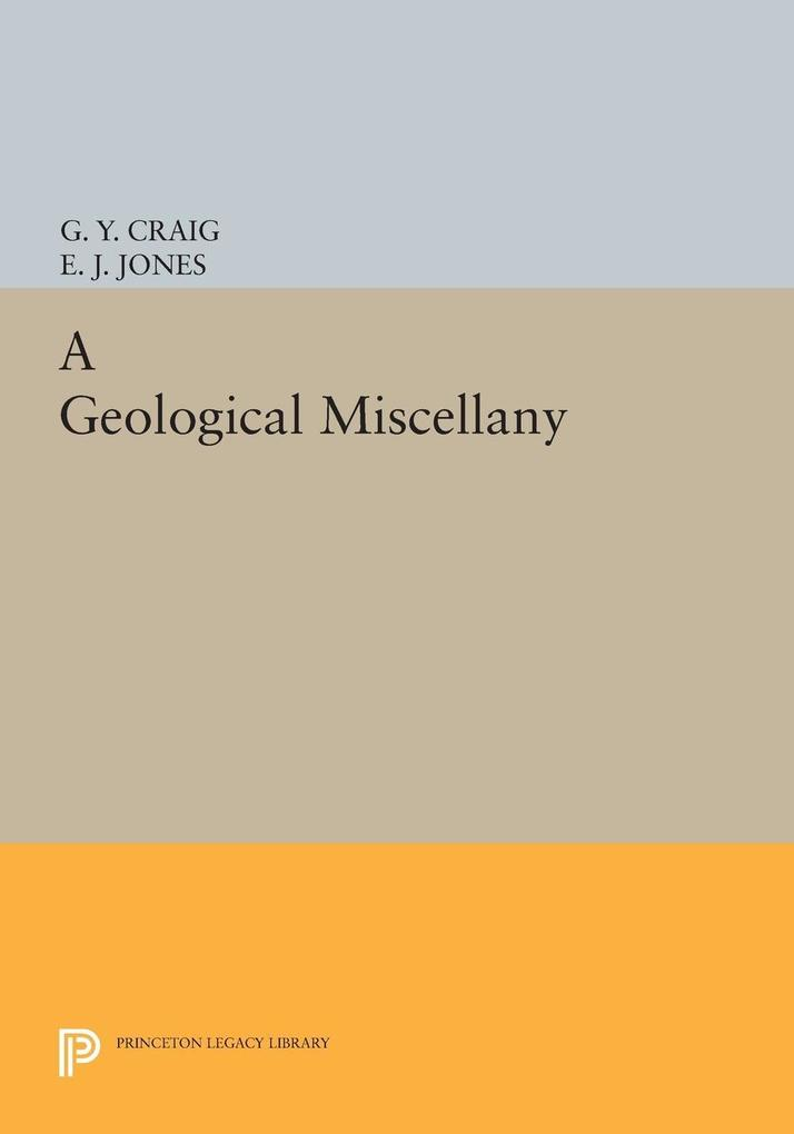 A Geological Miscellany als eBook Download von ...