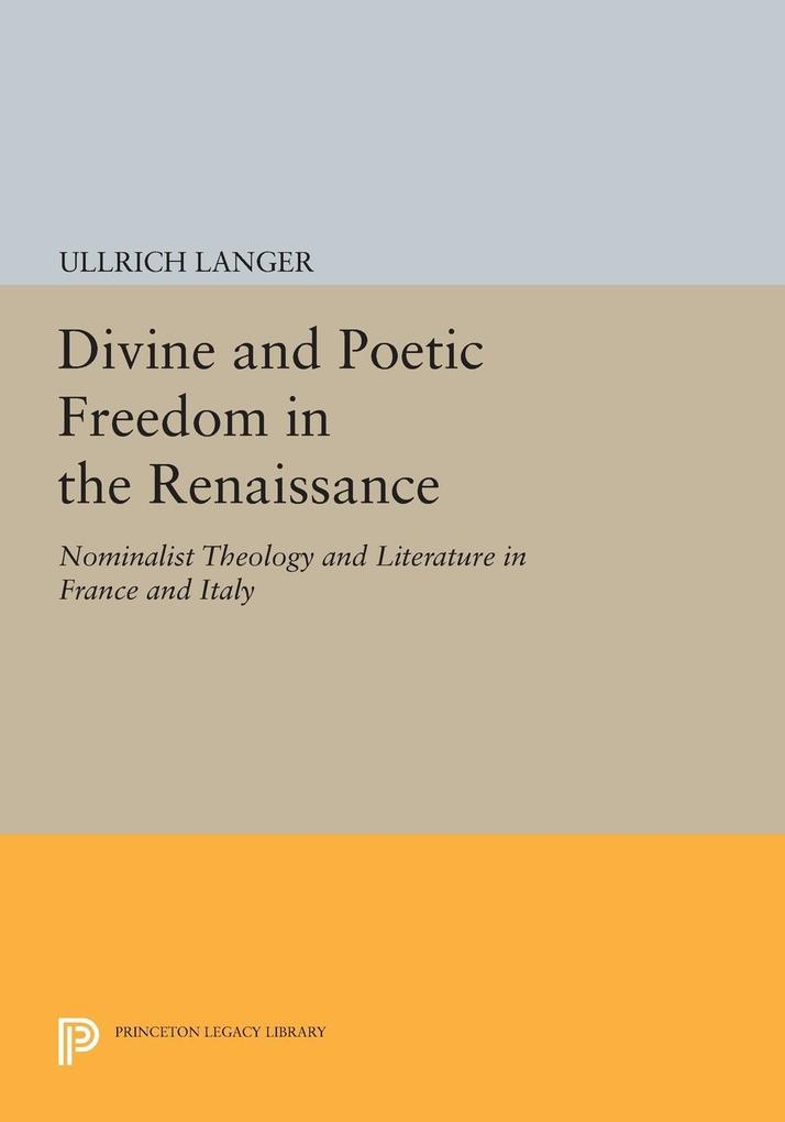 Divine and Poetic Freedom in the Renaissance al...
