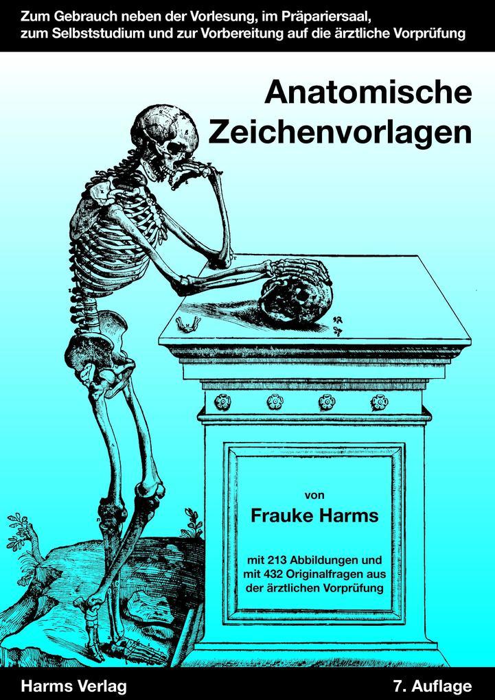 Anatomische Zeichenvorlagen (Buch), Frauke Harms
