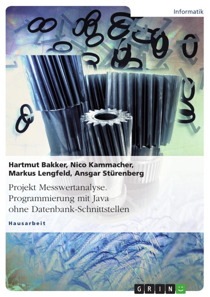 Projekt Messwertanalyse. Programmierung mit Jav...