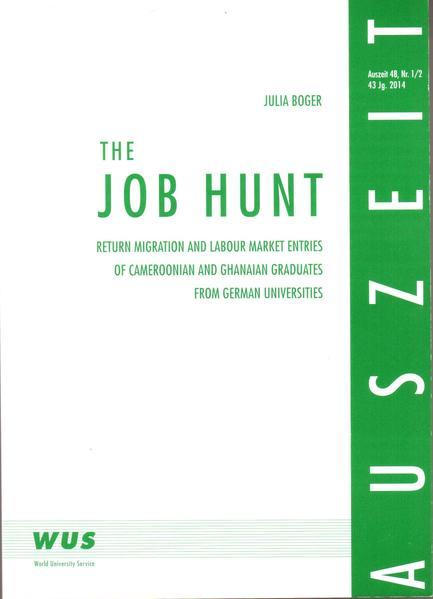 The Job Hunt als Buch von Julia Boger