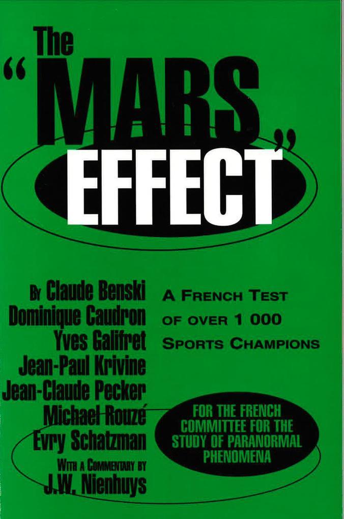 The Mars Effect als Taschenbuch