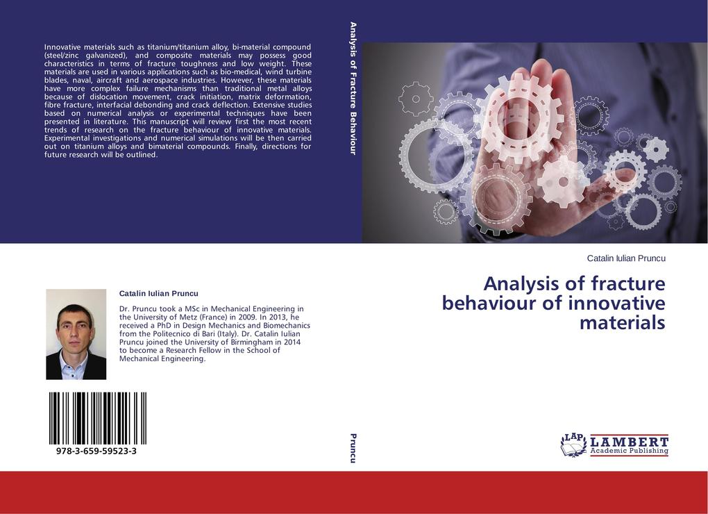 Analysis of fracture behaviour of innovative ma...