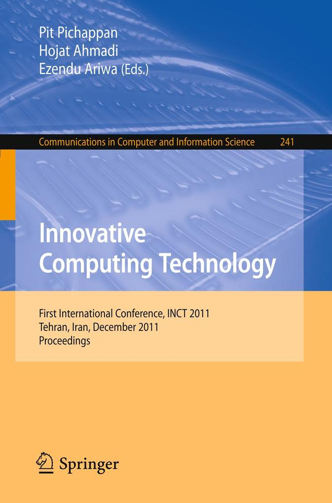 Innovative Computing Technology als eBook Downl...