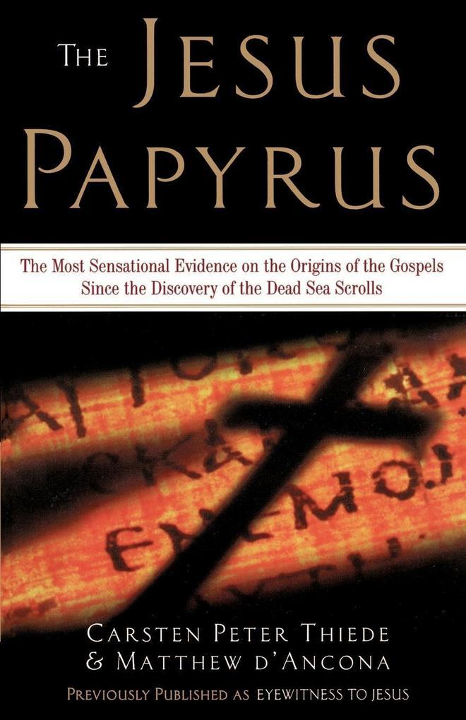 The Jesus Papyrus als Buch