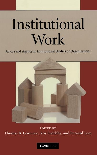 Institutional Work als eBook Download von
