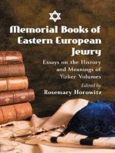 Memorial Books of Eastern European Jewry als eB...