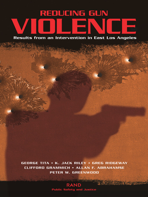 Reducing Gun Violence als eBook Download von Ge...
