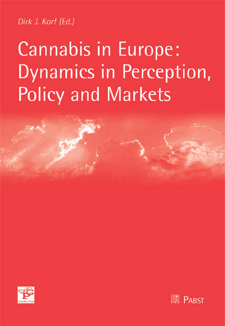Cannabis in Europe: Dynamics in Perception, Pol...
