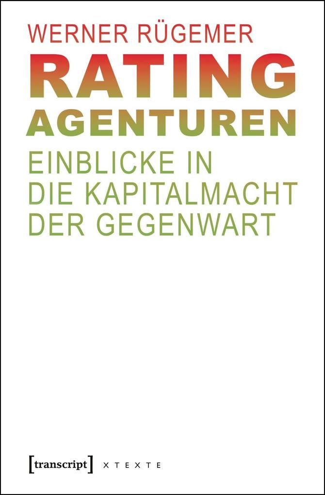 Rating-Agenturen als eBook Download von Werner ...