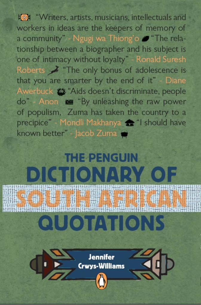 The Penguin Dictionary of South Africa Quotatio...