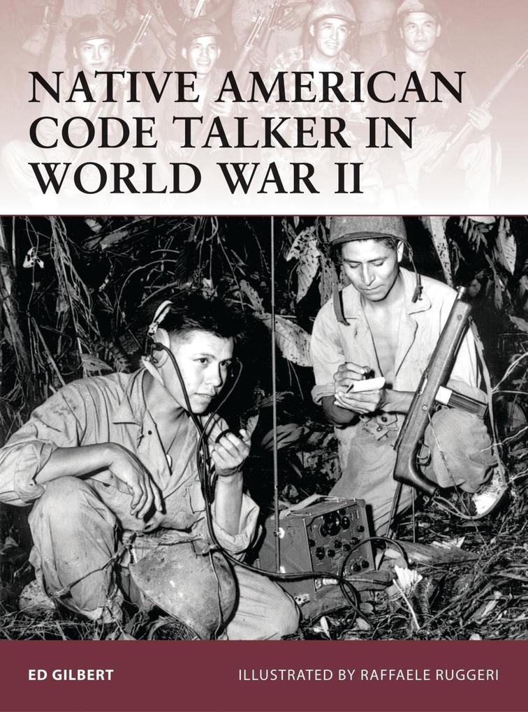 Native American Code Talker in World War II als...