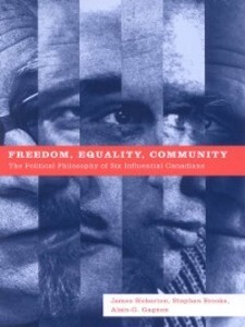 Freedom, Equality, Community als eBook Download...