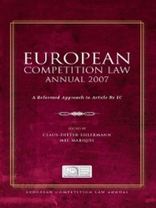 European Competition Law Annual 2007 als eBook ...