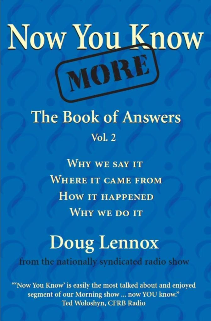 Now You Know More als eBook Download von Doug L...