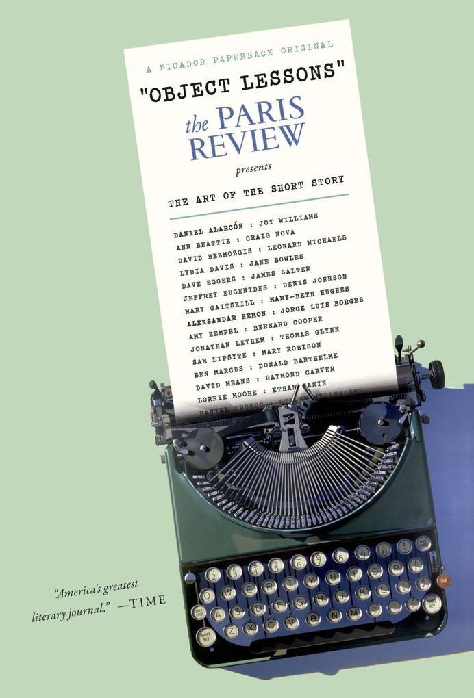 Object Lessons als eBook Download von The Paris...