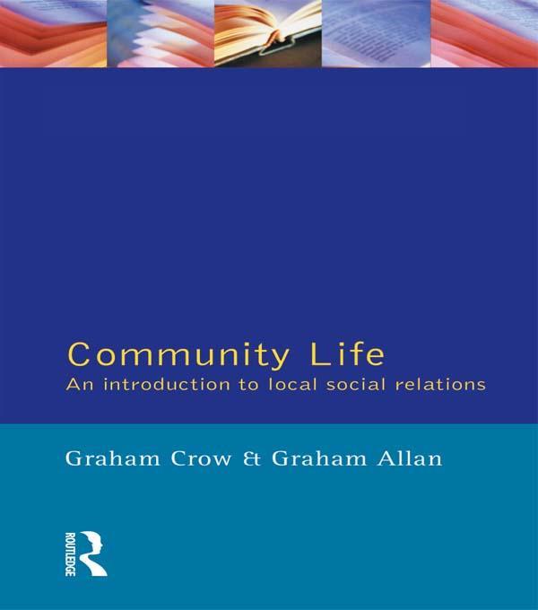 Community Life als eBook Download von Graham Cr...