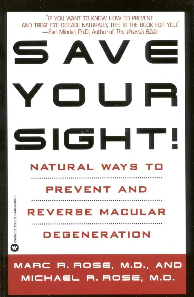 Save Your Sight! als eBook Download von Marc R....