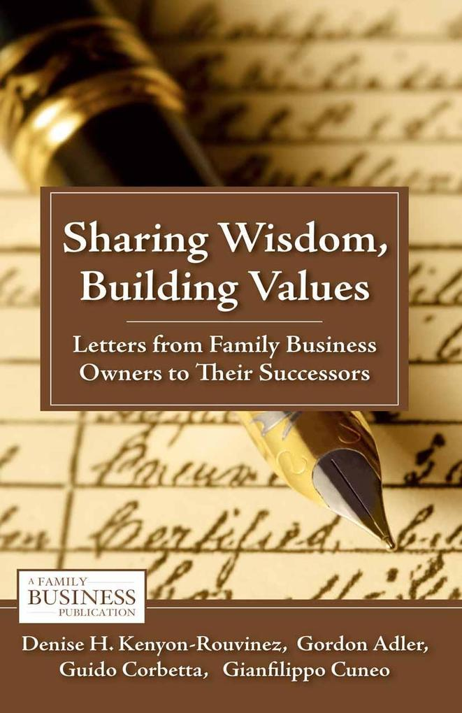 Sharing Wisdom, Building Values als eBook Downl...