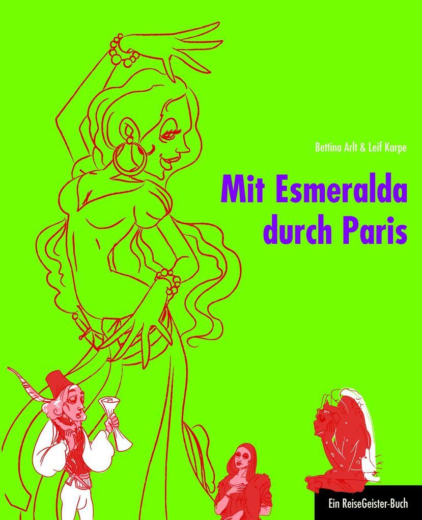 Mit Esmeralda durch Paris als eBook