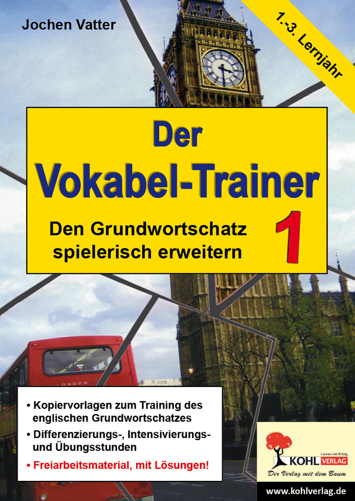 Der Vokabel-Trainer - Band 1 als eBook Download...