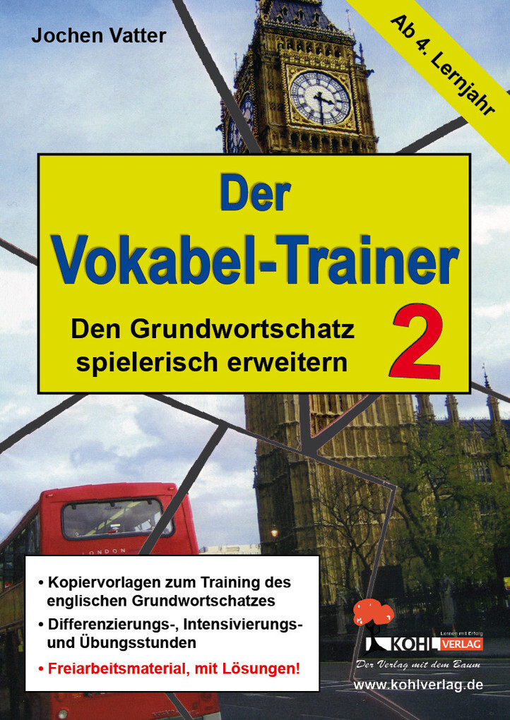 Der Vokabel-Trainer - Band 2 als eBook Download...
