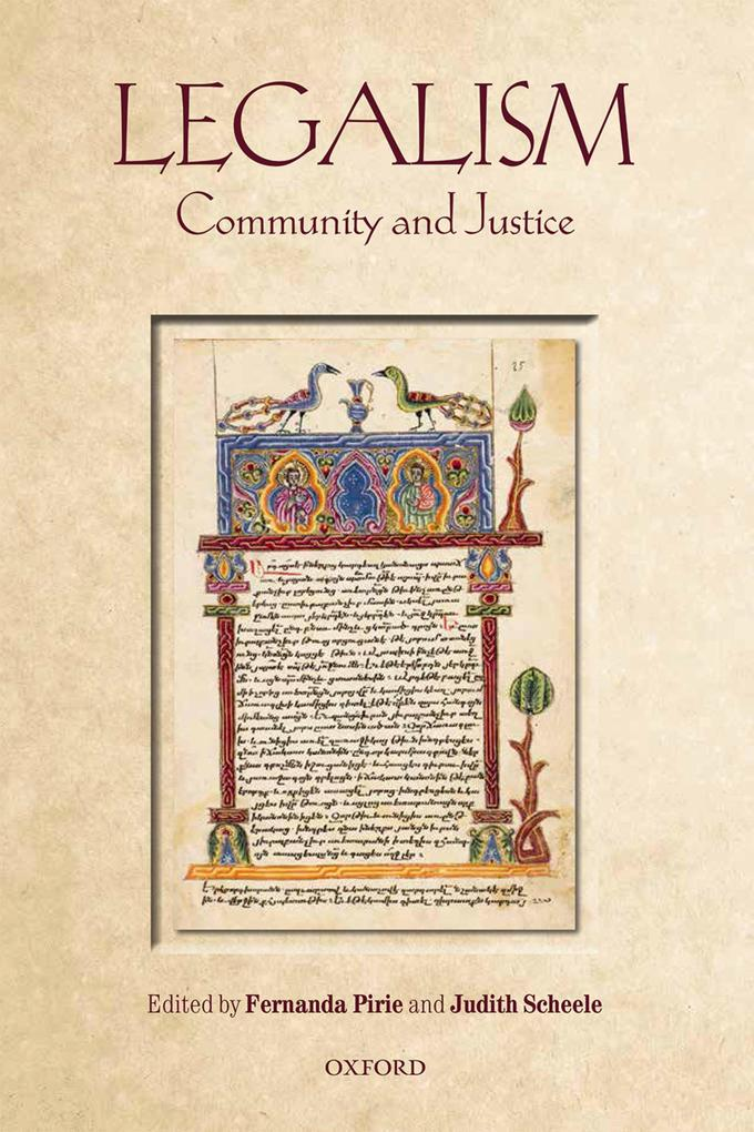 Legalism: Community and Justice als eBook Downl...