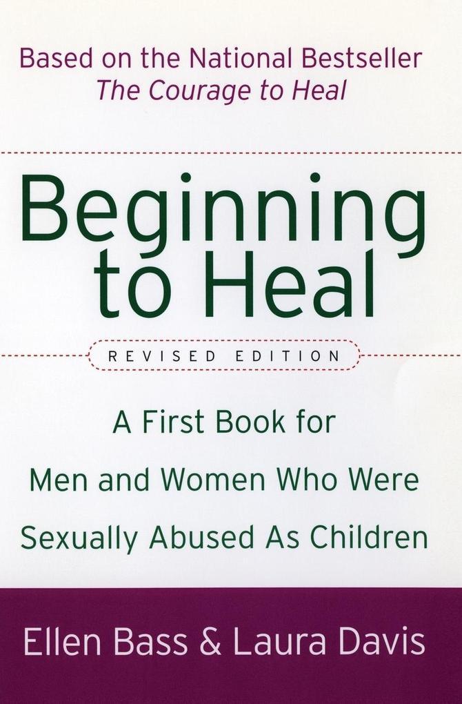 Beginning to Heal (Revised Edition) als Taschenbuch