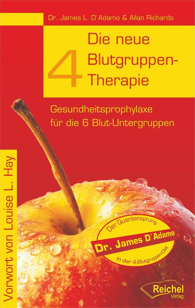 Die neue 4-Blutgruppen-Therapie als eBook epub